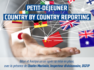 CBCR / Country by Country Reporting / Déclaration pays par pays • Petit-déjeuner Invoke • 27 novembre 2018