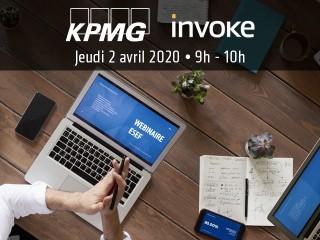 Invoke et KPMG vous invitent à participer à une conférence en ligne dédiée au reporting ESEF !