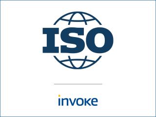 Invoke obtient la certification ISO