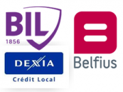 Belfius, BIL et Dexia Crédit Local